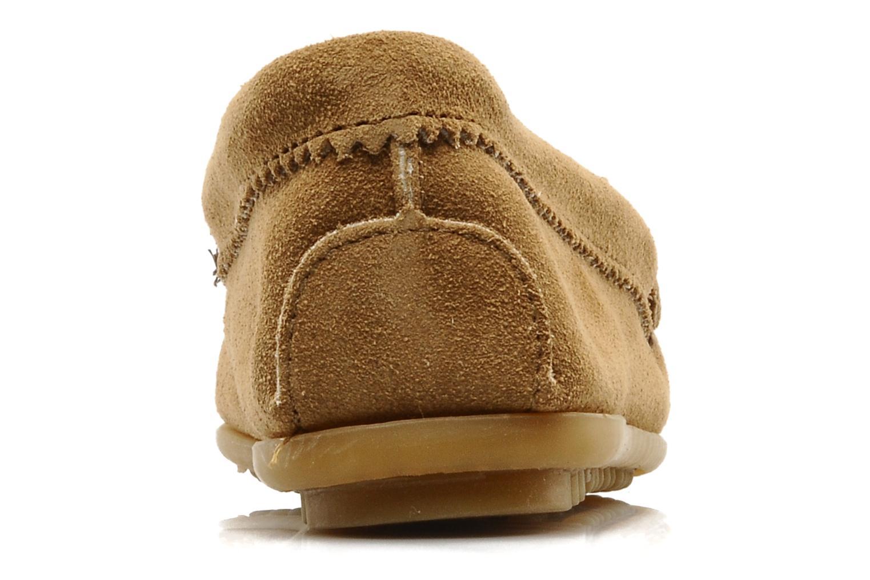 Loafers Minnetonka THUNDERBIRD 2 Beige Se fra højre