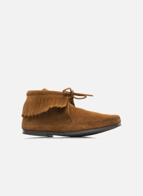 Boots en enkellaarsjes Minnetonka CLASSIC FRINGE Bruin achterkant