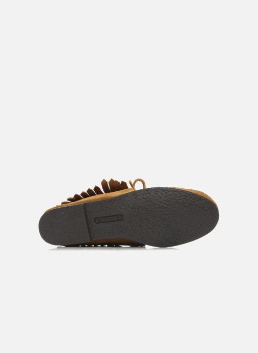 Boots en enkellaarsjes Minnetonka CLASSIC FRINGE Bruin boven