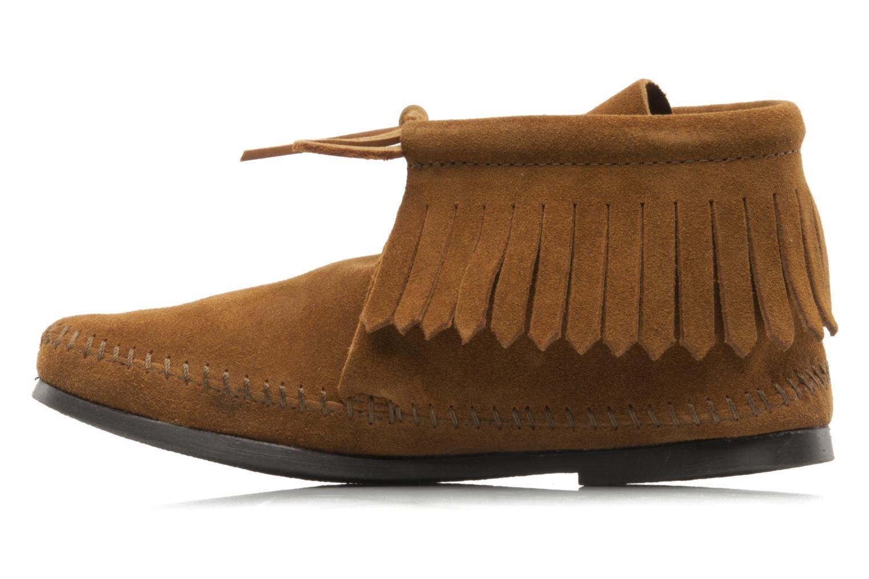 Stiefeletten & Boots Minnetonka CLASSIC FRINGE braun ansicht von vorne
