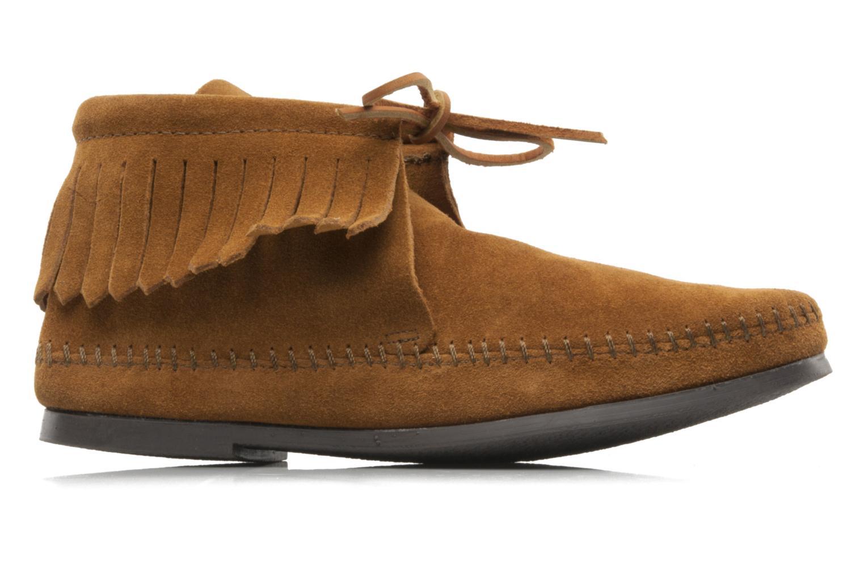 Bottines et boots Minnetonka CLASSIC FRINGE Marron vue derrière