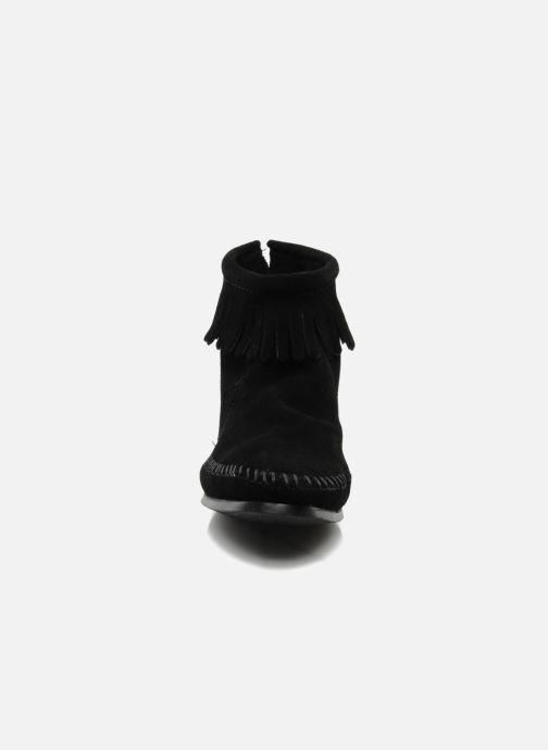 Boots en enkellaarsjes Minnetonka BACK ZIPPER BT Zwart model