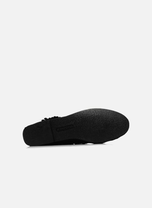 Boots en enkellaarsjes Minnetonka BACK ZIPPER BT Zwart boven