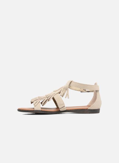 Minnetonka Maui (Beige) Sandales et nu pieds chez Sarenza