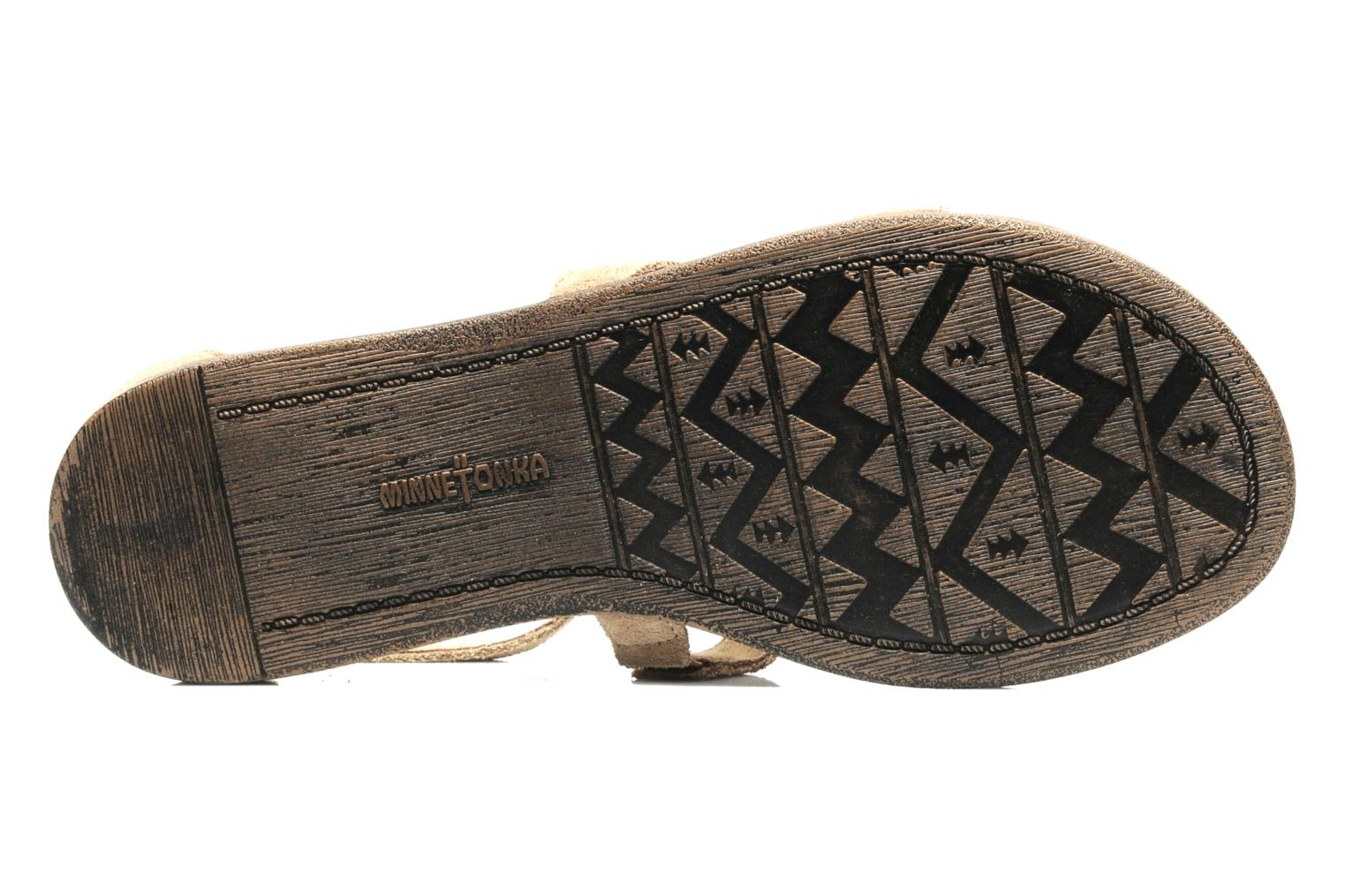 Sandals Minnetonka Maui Beige view from above