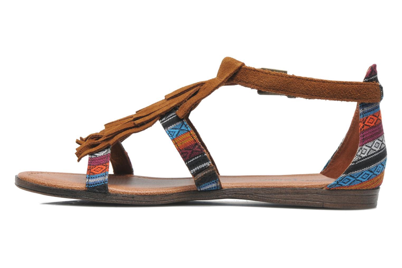 Sandales et nu-pieds Minnetonka Maui Multicolore vue face