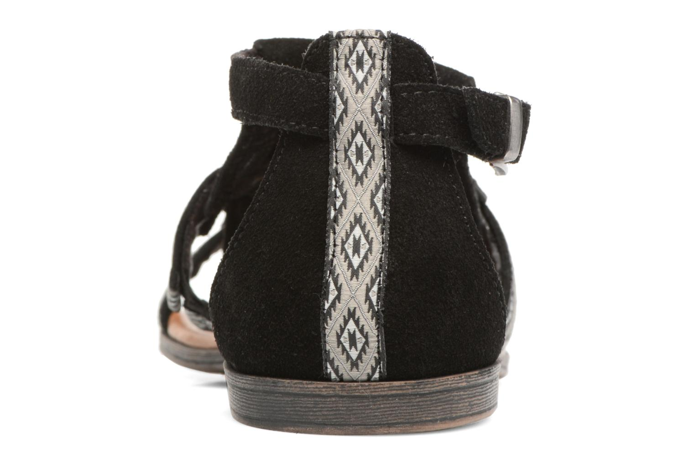 Sandales et nu-pieds Minnetonka Maui Noir vue droite