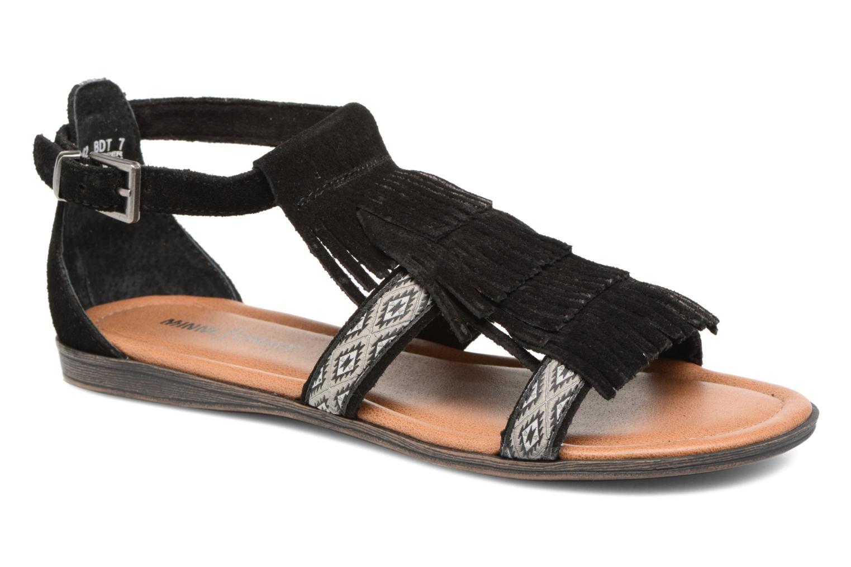 Sandales et nu-pieds Minnetonka Maui Noir vue détail/paire