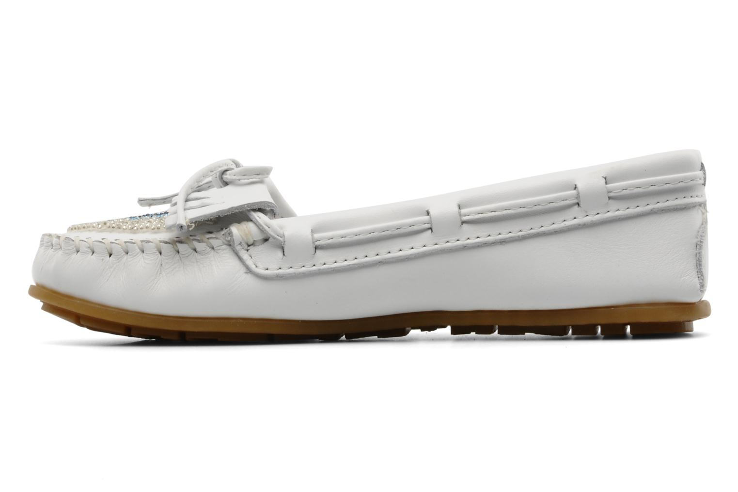 Loafers Minnetonka KILTY BEADED White front view