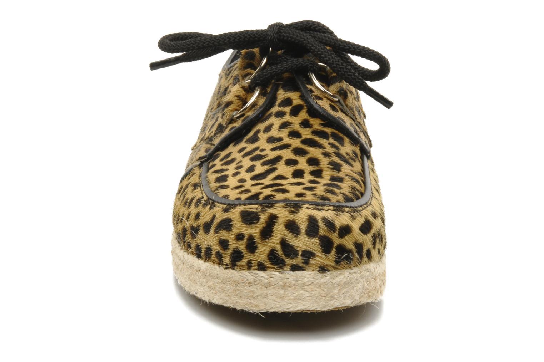 Chaussures à lacets Underground Wulfrun Rope Beige vue portées chaussures