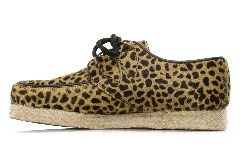 Chaussures à lacets Underground Wulfrun Rope Beige vue face