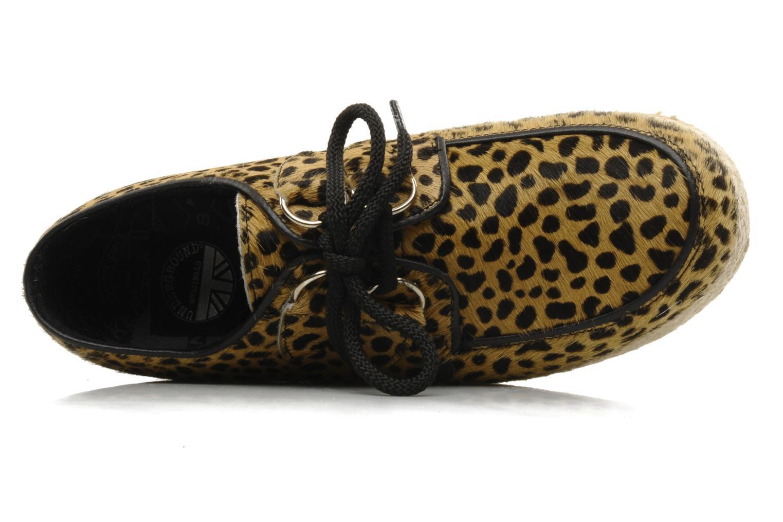 Chaussures à lacets Underground Wulfrun Rope Beige vue gauche