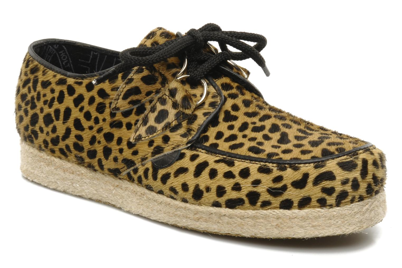 Chaussures à lacets Underground Wulfrun Rope Beige vue détail/paire