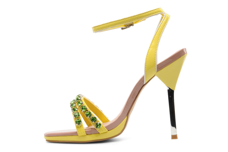 Sandales et nu-pieds Carvela Ginny Jaune vue face