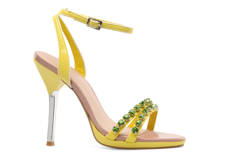 Sandales et nu-pieds Carvela Ginny Jaune vue derrière