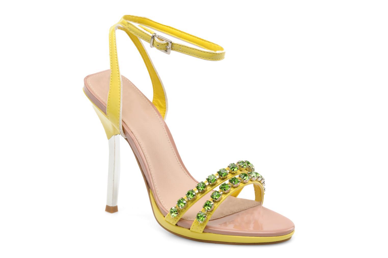 Sandales et nu-pieds Carvela Ginny Jaune vue détail/paire