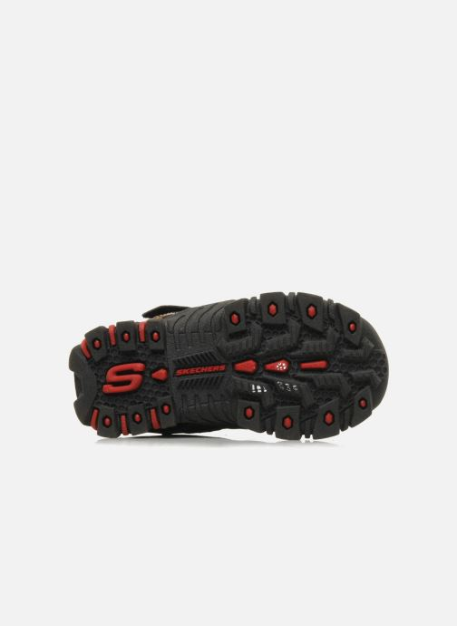 Trainers Skechers Turbo-s Black view from above