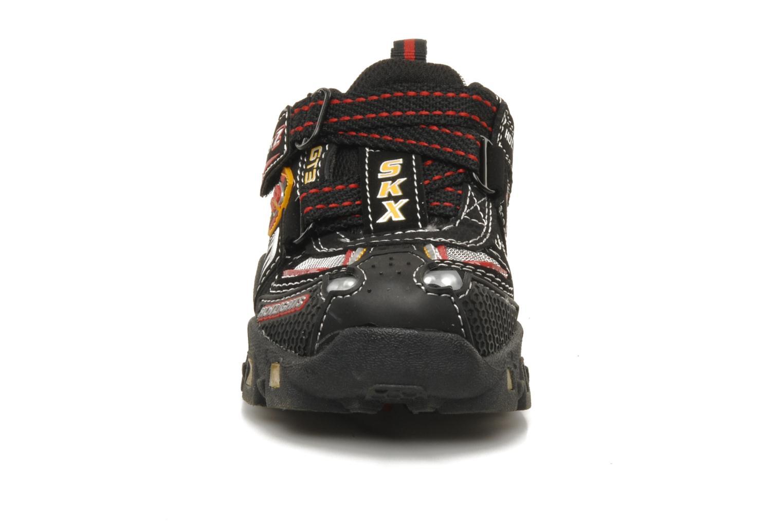 Baskets Skechers Turbo-s Noir vue portées chaussures