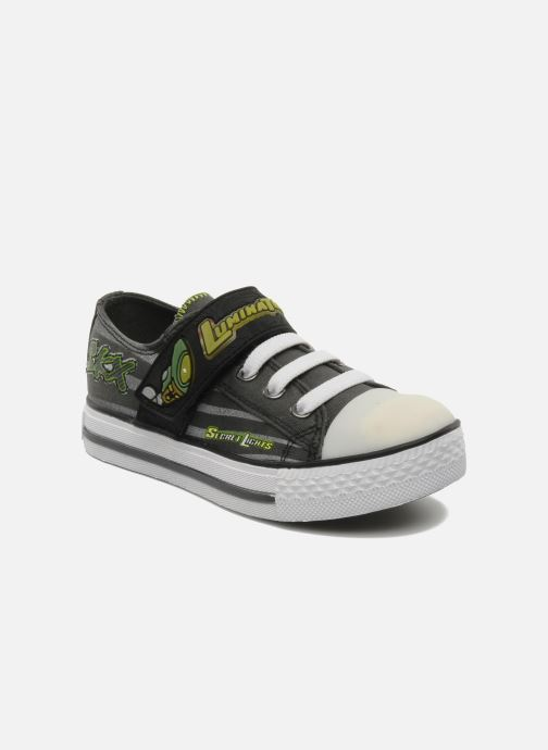 Trainers Skechers Roswell Grey detailed view/ Pair view