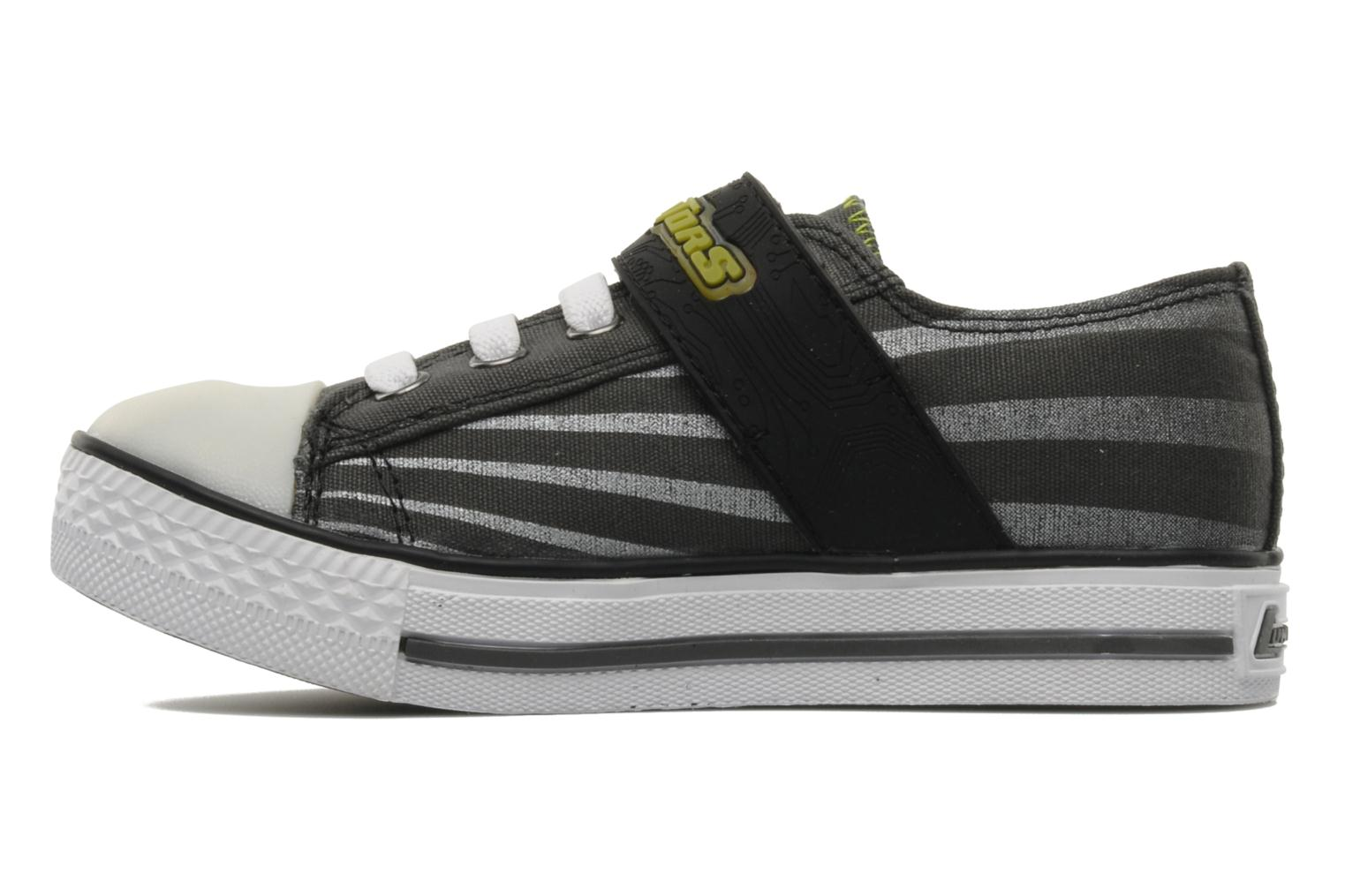Baskets Skechers Roswell Gris vue face