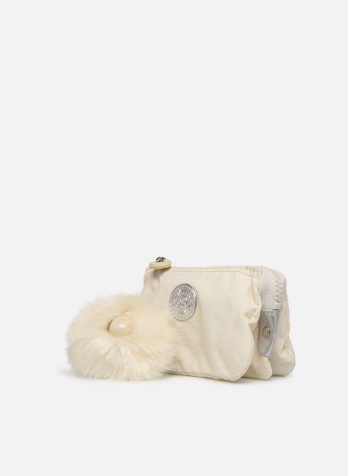 Petite Maroquinerie kipling Creativity S Blanc vue portées chaussures