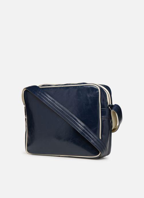 Herrentaschen Fred Perry Classic shoulder bag blau ansicht von rechts