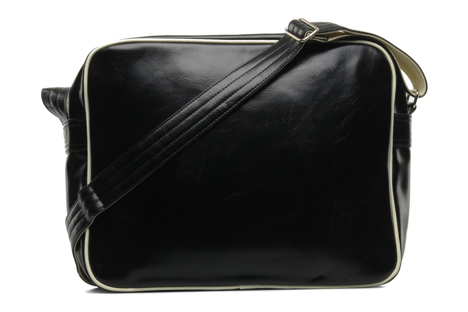 Sacs homme Fred Perry Classic shoulder bag Noir vue face