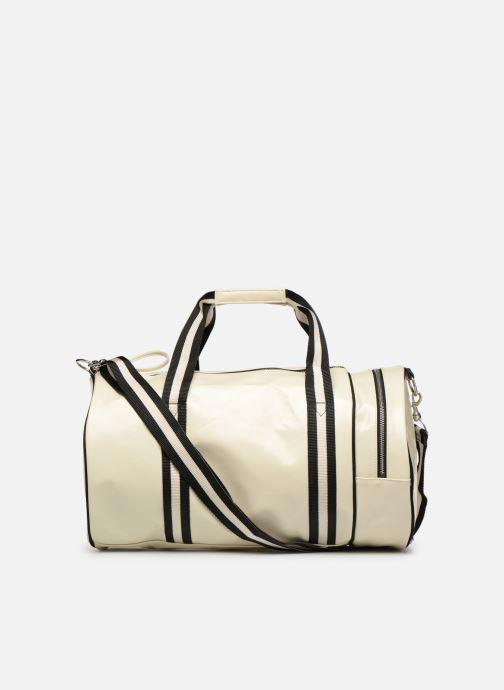 Sacs de sport Fred Perry Classic Barrel Bag Blanc vue face