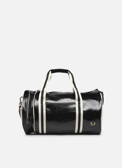 Sporttaschen Fred Perry Classic Barrel Bag schwarz detaillierte ansicht/modell