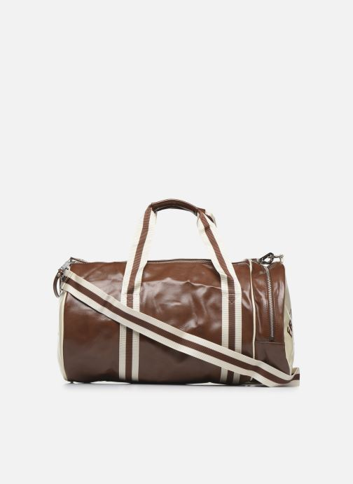 Bagages Fred Perry Classic Barrel Bag Marron vue face
