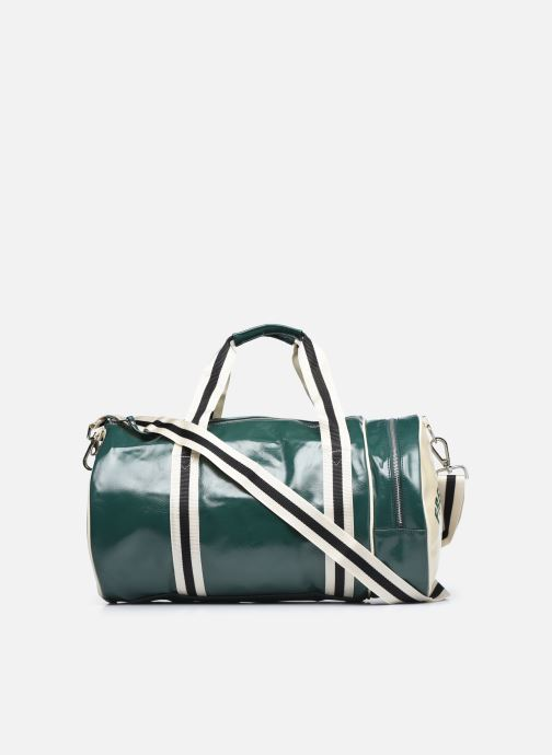 Bagages Fred Perry Classic Barrel Bag Vert vue face