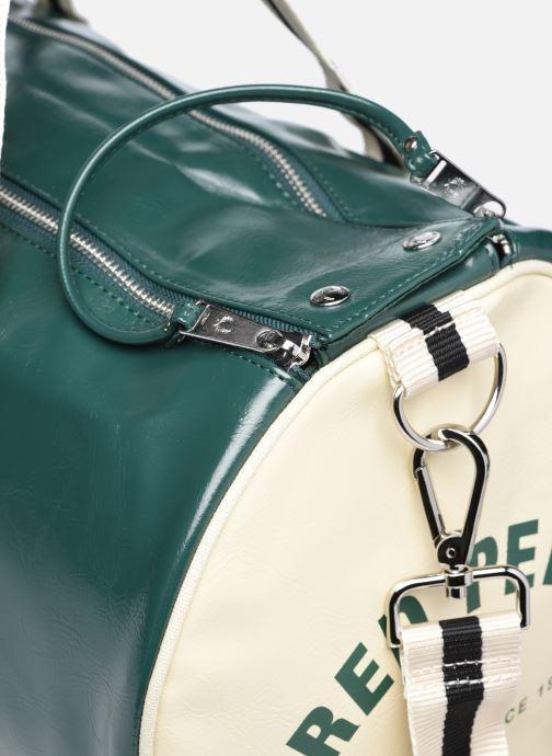 Bagages Fred Perry Classic Barrel Bag Vert vue gauche