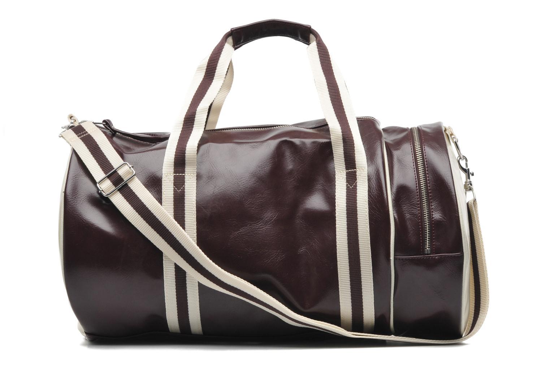 Sacs de sport Fred Perry Classic Barrel Bag Bordeaux vue face