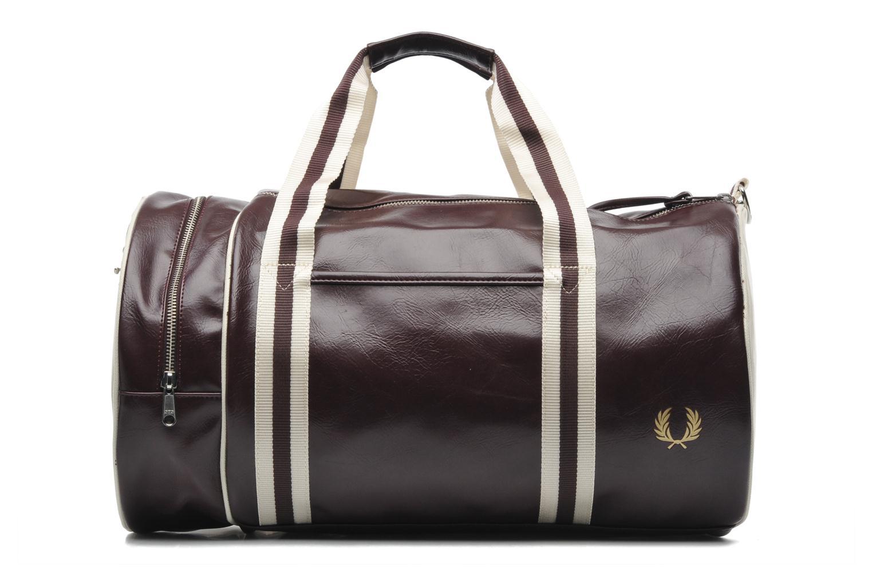 Sacs de sport Fred Perry Classic Barrel Bag Bordeaux vue détail/paire