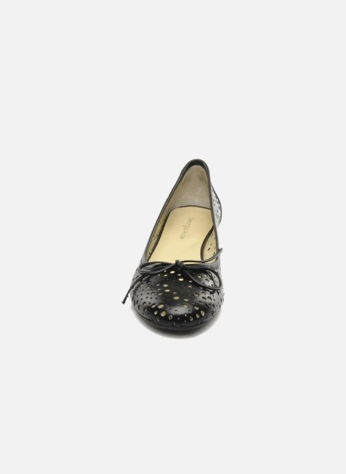 Ballerines Georgia Rose Tourine Noir vue portées chaussures