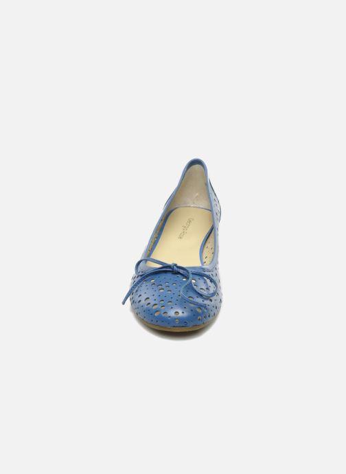 Ballerines Georgia Rose Tourine Bleu vue portées chaussures
