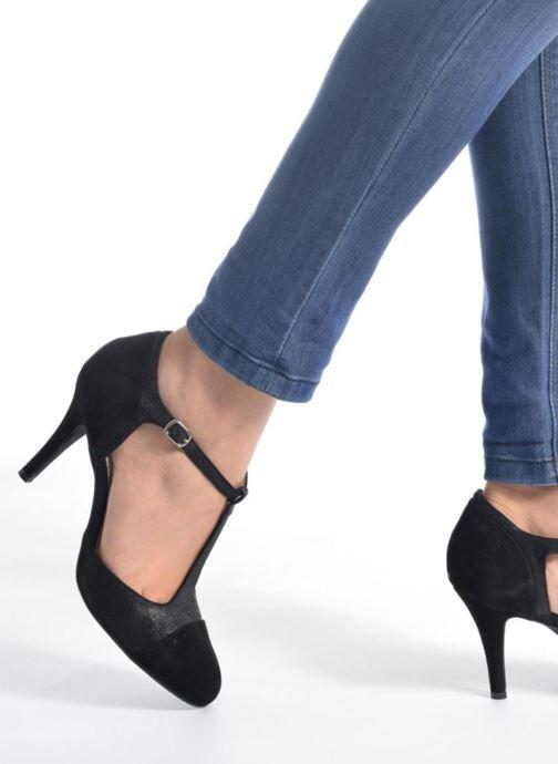 Zapatos de tacón Georgia Rose Tamar Negro vista de abajo