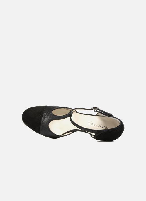 Zapatos de tacón Georgia Rose Tamar Negro vista lateral izquierda