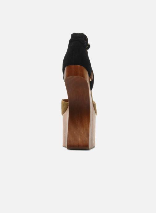Sandales et nu-pieds Jeffrey Campbell STRUP Vert vue droite