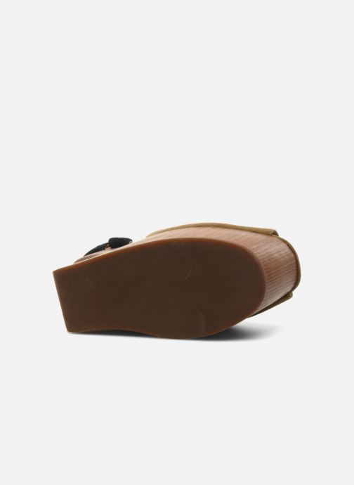 Sandales et nu-pieds Jeffrey Campbell STRUP Vert vue haut