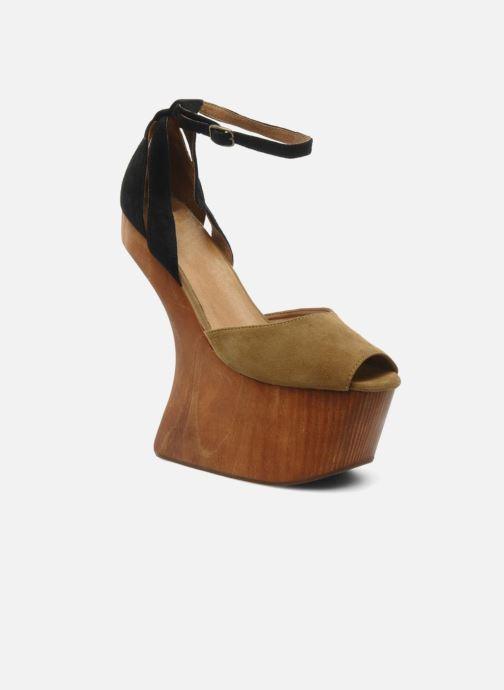 Sandales et nu-pieds Jeffrey Campbell STRUP Vert vue détail/paire