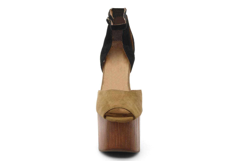 Sandales et nu-pieds Jeffrey Campbell STRUP Vert vue portées chaussures