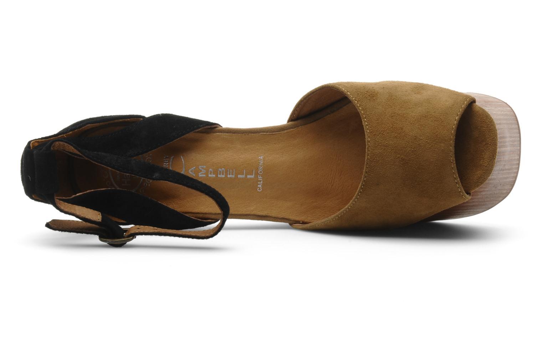 Sandales et nu-pieds Jeffrey Campbell STRUP Vert vue gauche