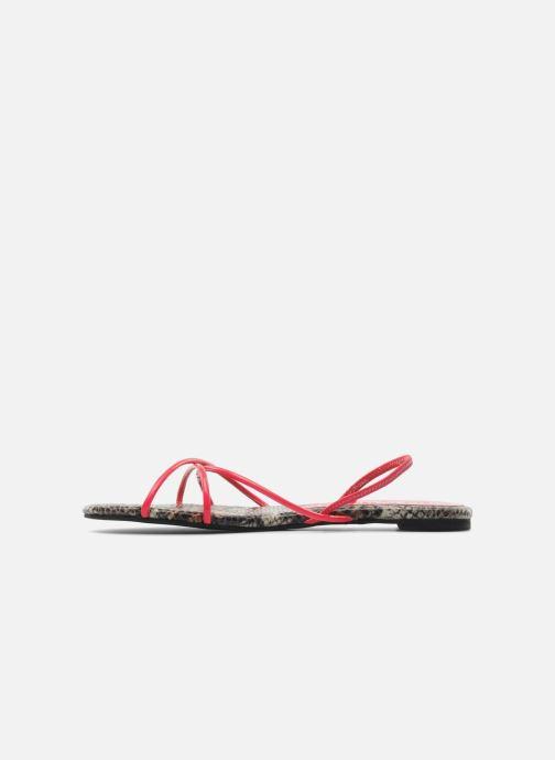 Sandales et nu-pieds Jeffrey Campbell SPIRAL Rose vue face