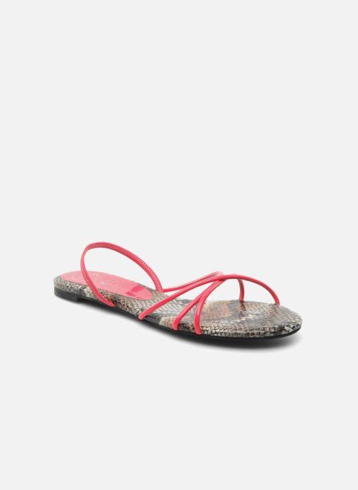 Sandales et nu-pieds Jeffrey Campbell SPIRAL Rose vue détail/paire