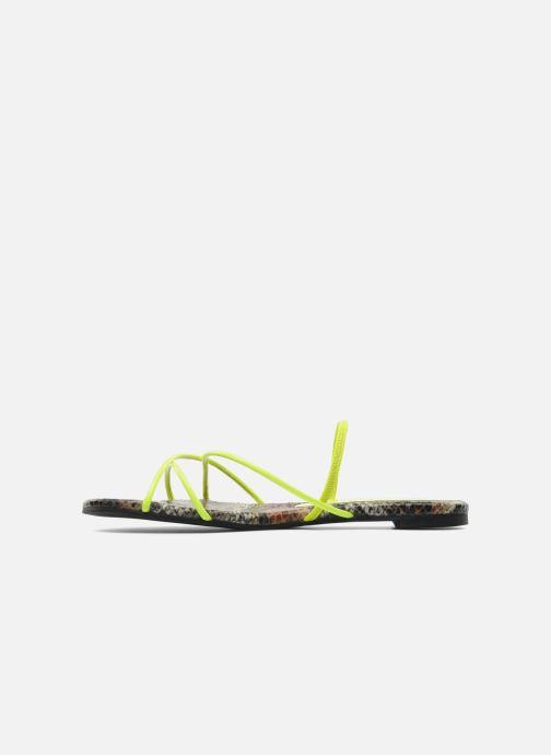 Sandali e scarpe aperte Jeffrey Campbell SPIRAL Giallo immagine frontale