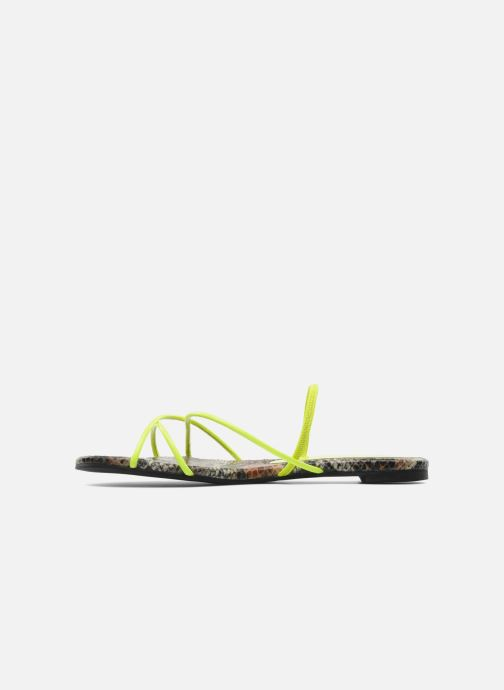 Neon Campbell Yellow Spiral Nu pieds Jeffrey Sandales Et hxrtsQdC