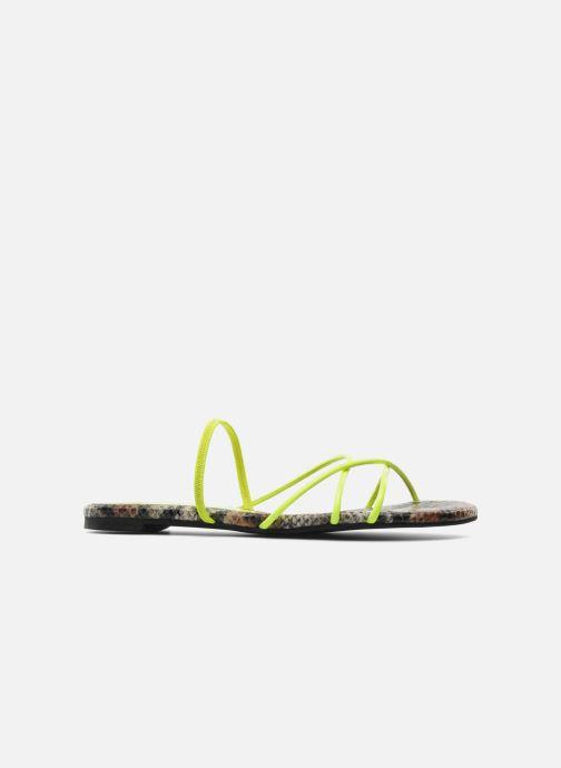 Sandali e scarpe aperte Jeffrey Campbell SPIRAL Giallo immagine posteriore