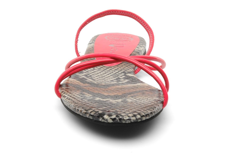 Sandaler Jeffrey Campbell SPIRAL Pink se skoene på