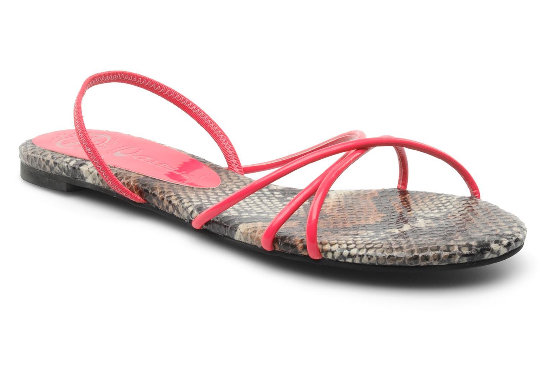 Sandaler Jeffrey Campbell SPIRAL Pink detaljeret billede af skoene